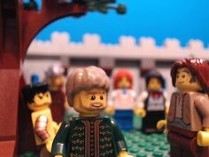 """""""When Jesus reached the spot, he looked up and said to him, """"Zacchaeus, come down immediately. I must stay at your house today. Lego Bible, Catholic Crafts, Church Crafts, Godly Play, Day Club, Kids Church, Church Ideas, Sunday School, Sunday Funday"""
