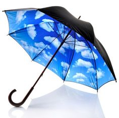This is so cool!  No more dark gloominess....  MOMA blue sky umbrella