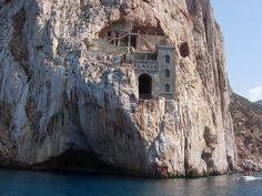 old mine of Porto Flavia (Sardegna)