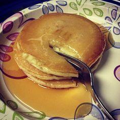 Pancakes make the perfect pajama day treat #FanPhoto