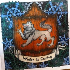 #gameofthrones #gameofthronescoloringbook #coloringbooks #housestark #winteriscoming