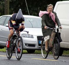 All kinds of people can cycle!