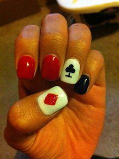 Poker nails :)