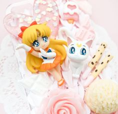 MADE TO ORDER Sailor Venus Sweets Pink Whip Cream Handmade Custom iPhone Samsung Decoden Case on Etsy, $43.00