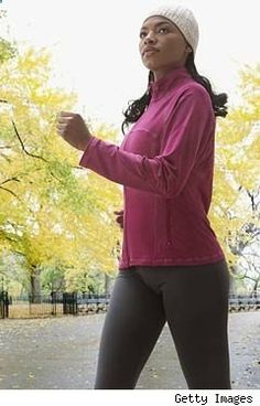 Four week walking-for-weight-loss fitness plan. Looks good!