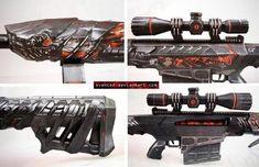 Crossfire Barrett Obsidian Beast VIP Papercraft 2 by svanced on DeviantArt