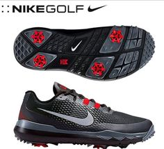 34ad70fd9f0 Nike Tiger Woods TW15 Mens Golf Shoes Spikes SIze 8 704884-001  Nike Nike