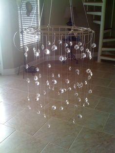 DIY: Crystal Baby Mobile   God bless {our} nest