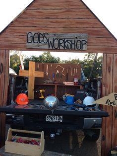Fall Carnival Trunk or Treat - God's Work - Christian - God's Workshop - Building Relationships - FBC Tallulah, LA