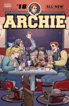 Archie n°18 (15.03.2017) // NEW STORY ARC! The Blossom Twins have found out their father has been lying to them about why they moved to Riverdale. It's up to Detective Jughead to learn the dark truth behind the Blossom Family! Join us as we welcome new Archie series artist Pete Woods (Deadpool, Robin).  #archie #comics