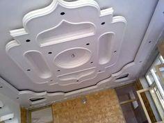 Drawing Room Ceiling Design, Plaster Ceiling Design, Gypsum Ceiling Design, Pop False Ceiling Design, House Ceiling Design, Ceiling Design Living Room, Roof Ceiling, Ceiling Decor, Pooja Room Design