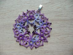 There's a lot of cute tatting patterns on this website.