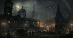 """8 European Cities in """"Alternate Neo-Victorian universe"""" -  """"Steampunk"""" Style by RAD Team  (The Order:1886)"""