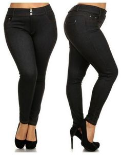 Plus size jegging le