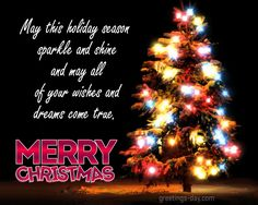 May this holiday season sparkle and shine... christmas christmas quote cute christmas christmas greeting merry christmas happy holidays christmas friend animated christmas christmas gif christmas card seasons greetings