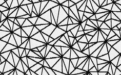 Textil inspirado en las teselaciones de papel. Acolchado y doble vista. Disponible en la tienda ONLINE.