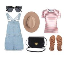"""Spring Outift"" by katrenn on Polyvore featuring Glamorous, Satya Twena, Billabong and Le Specs"