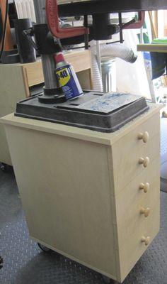 drill press cabinet