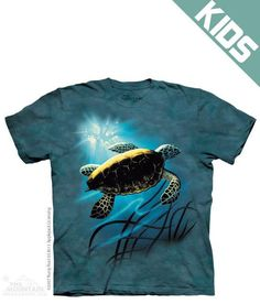 Green Sea Turtle Youth T-Shirt