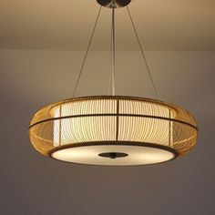 Japanese style restaurant lamp single pendant light modern bamboo brief lamps…