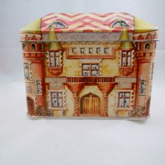 Vintage Tins – Colorful French Chateau Tin