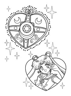 Sailor Moon Coloring Pages. 30 Sailor Moon Coloring Pages. Free Printable Sailor Moon Coloring Pages for Kids Sailor Moon Tattoos, Sailor Moons, Sailor Moon Manga, Arte Sailor Moon, Sailor Moon Fan Art, Sailor Moon Brooch, Tattoos Mandala, Tattoos Geometric, Sailor Moon Coloring Pages