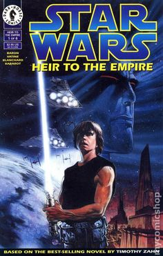 Star Wars – the Thrawn trilogy. Heir to the Empire, Dark Force Rising and The Last Command. Written by Mike Baron adapting the Timothy Zahn 1990s novels. Although non-canon, it is very much in the spirit of the universe. Feels like the sequel we will never see but credited with making Star Wars cool again. The Thrawn stuff was excellent. The exploration of worlds was great. Admiral Ackbar and Mon Mothma characterization was nice. Top expanded universe here at work.