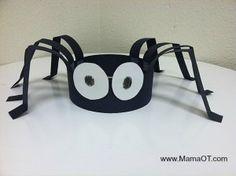 Spider Crafts and Activities for Kids Halloween Tags, Halloween Crafts For Kids, Halloween Activities, Halloween Themes, Fall Halloween, Arts And Crafts For Kids Easy, Homemade Halloween, Halloween Horror, Happy Halloween