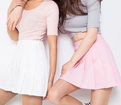 "Lovely buyershow pic from @mekkakyu on instagram ^_^ Color:black.white.pink.navy blue. Size:XS.S.M.L. Size XS: Length:35cm/13.65"".Waist:62cm/24.18"". Size S: Length:36cm/14.04"".Waist:66cm/25.74"". Size"