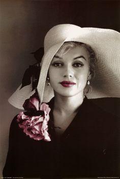 prints of marilyn monroe | Marilyn Monroe Spot-Color Photography Art Print