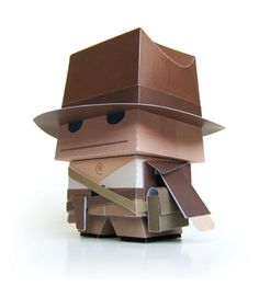 Blog_Paper_Toy_papertoy_Indiana_Jones_pic1