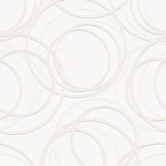 White Paintable Embossed Wallpaper