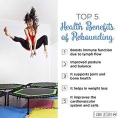 Do you use a trampoline? What benefits do you find?  #tramp #trampoline #rebound #rebounding #baemassage #pickerington #reynoldsburg #massage #feelbetter #bodyacheescape