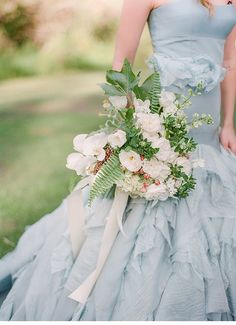 blue wedding inspiration - photo: Blush Wedding Photography taken at Secrets of a Stylist Workshop by Grey Likes Weddings