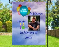 Happy Heavenly Birthday fall waterproof memorial card for | Etsy Happy Heavenly Birthday Dad, Birthday In Heaven, Dad Birthday, Happy Birthday, Missing Mom In Heaven, Photo Merge, Purchase Card, Memorial Cards, Extreme Weather