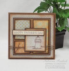 Aspiring to Creativity: Father's Day Cards
