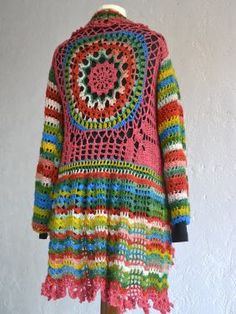 NEXT Modellpackung Hippiejacke Samba No. Crochet Cardigan, Crochet Shawl, Knit Crochet, Crochet World, Next Fashion, Boho Fashion, Hippie Crochet, Hippy Chic, Cycle Chic