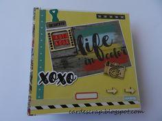 Card e Scrap: Album Beautiful Life