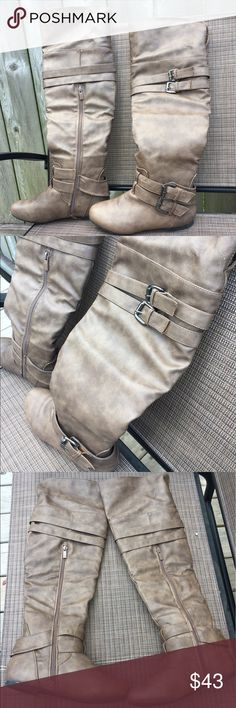 Spotted while shopping on Poshmark: Like New Top Moda Brown Boots! #poshmark #fashion #shopping #style #Top Moda #Shoes