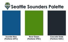 Seattle Sounders Color Palette