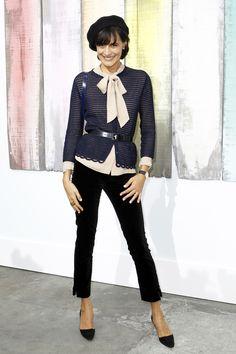 Inès de la Fressange Chanel Spring 2014 Ready-to-Wear Parisian Chic Style, Preppy Style, My Style, French Style, Fashion Week, Fashion Show, Womens Fashion, Style Chic Parisien, French Fashion