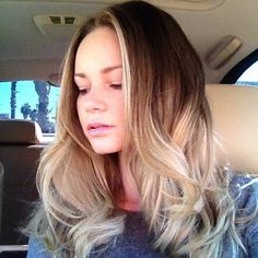 Wavy Ombre Hair Styles