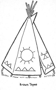 teepee coloring pages - - Image Search Results Beading Patterns, Embroidery Patterns, Quilt Patterns, Cross Stitch Embroidery, Cross Stitch Patterns, Native American Drawing, Cabin Crafts, Vintage Coloring Books, Magic Treehouse