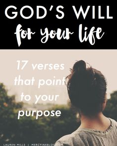 God's Will For Your Life [helpful refocus amidst suffering]