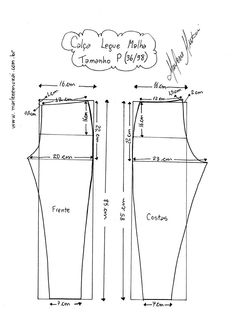 Most up-to-date Screen sewing pants for women Concepts 55 Ideas For Sewing Clothes Diy Dress Fit Dress Sewing Patterns, Sewing Patterns Free, Clothing Patterns, Sewing Tutorials, Sewing Pants, Sewing Clothes, Diy Clothes, Bodice Pattern, Pants Pattern