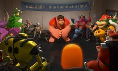 Wreck-It Ralph at Bad Guys Anonymous.