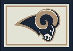 NFL Area Rug- St. Louis Rams 1 | NFL Rugs | Floors To Go