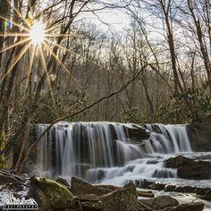 Upper Jonathan Run Falls, Ohiopyle State Park, Fayette County, PA
