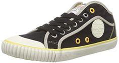 Pepe Jeans London Hohe Industry FlagDamen SneakersBlau515dusty W9EDHI2