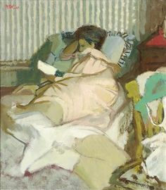 Charles James McCall - Morning post, 1963, Oil on... on MutualArt.com